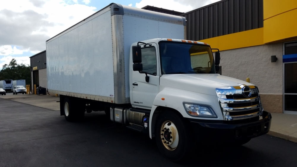 Medium Duty Box Truck-Light and Medium Duty Trucks-Hino-2012-268-WEST HAVEN-CT-205,431 miles-$26,500