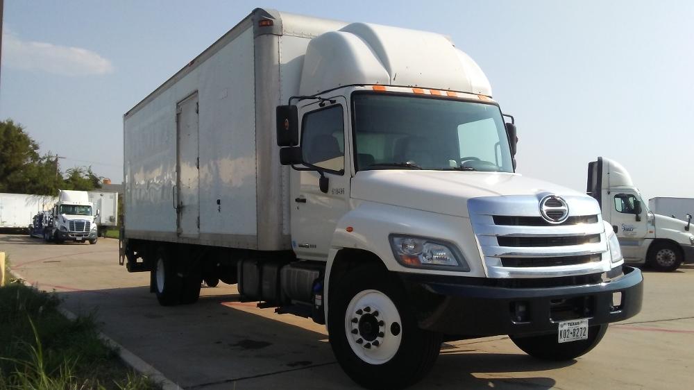 Medium Duty Box Truck-Light and Medium Duty Trucks-Hino-2012-338-DALLAS-TX-290,011 miles-$25,250