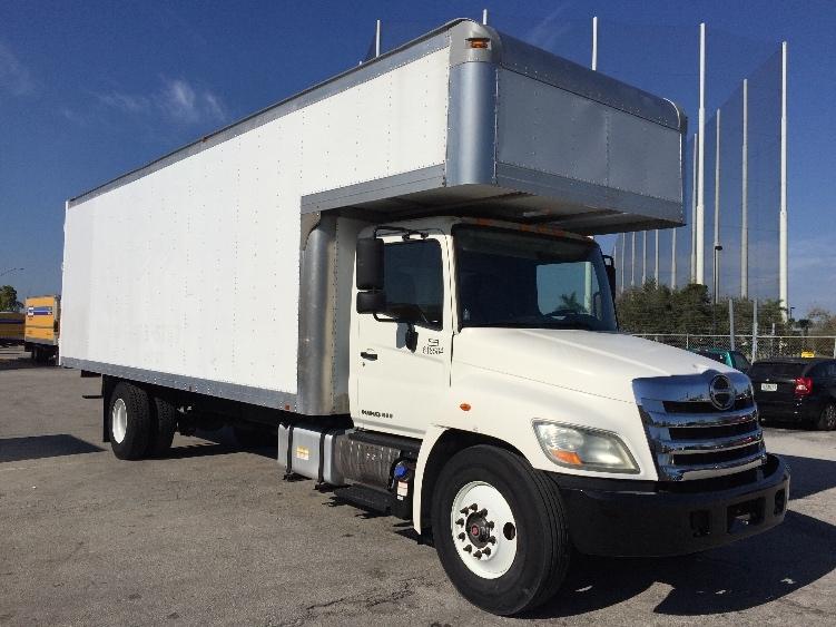 Medium Duty Box Truck-Light and Medium Duty Trucks-Hino-2012-268-MIAMI-FL-90,450 miles-$45,750