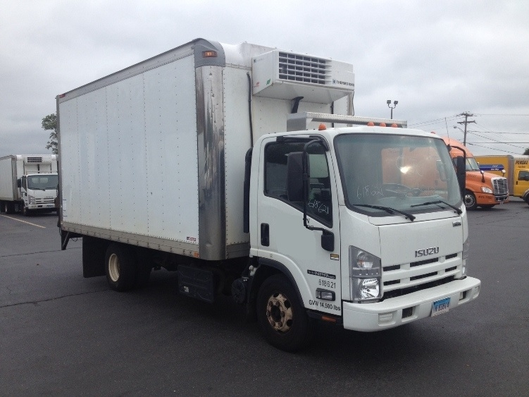 Reefer Truck-Light and Medium Duty Trucks-Isuzu-2011-NPR-EAST WINDSOR-CT-221,830 miles-$19,750