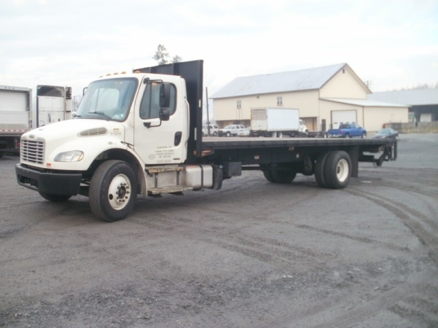Flatbed Truck-Light and Medium Duty Trucks-Freightliner-2012-M2-CLEONA-PA-237,140 miles-$32,000