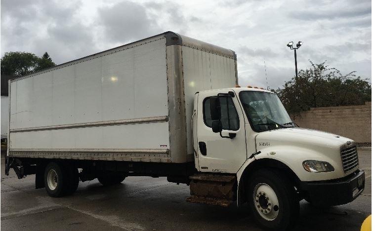 Medium Duty Box Truck-Light and Medium Duty Trucks-Freightliner-2012-M2-BROOKLYN PARK-MN-168,022 miles-$41,250