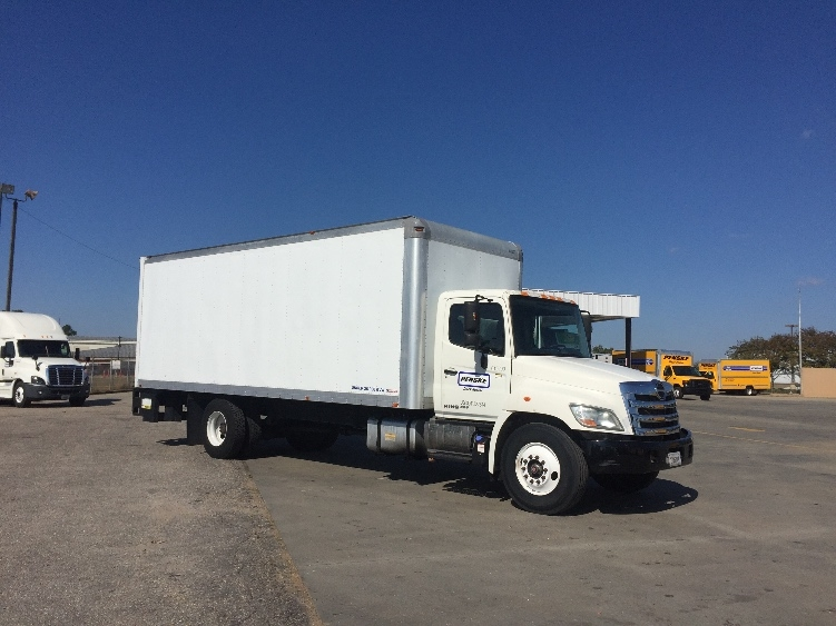 Medium Duty Box Truck-Light and Medium Duty Trucks-Hino-2012-268-BIRMINGHAM-AL-166,500 miles-$41,250