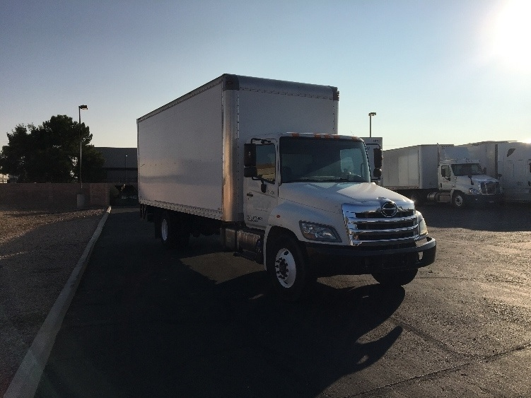 Medium Duty Box Truck-Light and Medium Duty Trucks-Hino-2012-268-PHOENIX-AZ-182,532 miles-$37,750