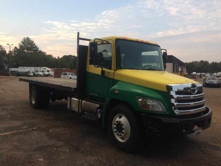 Flatbed Truck-Light and Medium Duty Trucks-Hino-2012-268-JACKSON-MS-85,334 miles-$51,500