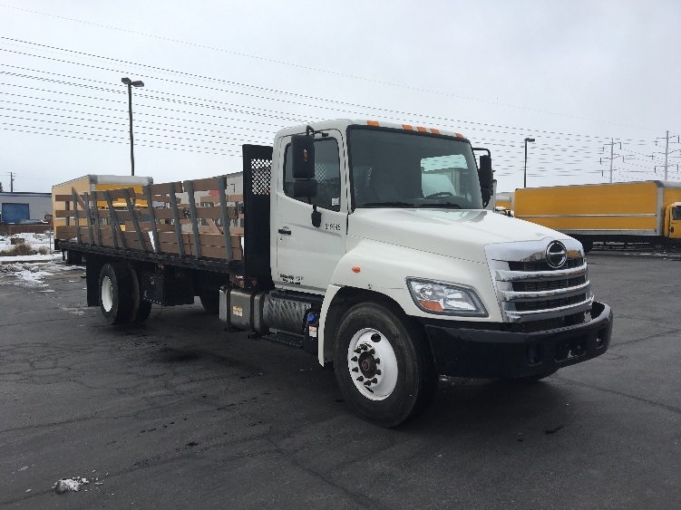 Flatbed Truck-Light and Medium Duty Trucks-Hino-2012-268-WEST VALLEY CITY-UT-145,427 miles-$43,000