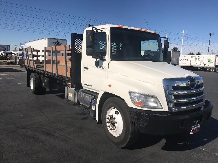 Flatbed Truck-Light and Medium Duty Trucks-Hino-2012-268-WEST VALLEY CITY-UT-161,637 miles-$40,500