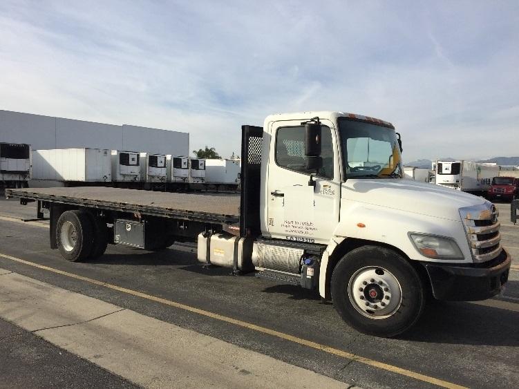 Flatbed Truck-Light and Medium Duty Trucks-Hino-2012-268-CHINO-CA-226,856 miles-$45,250