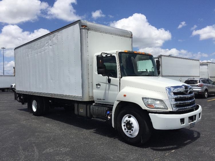 Medium Duty Box Truck-Light and Medium Duty Trucks-Hino-2012-268-SAN ANTONIO-TX-121,771 miles-$38,750