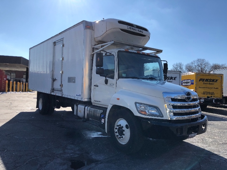 Reefer Truck-Light and Medium Duty Trucks-Hino-2012-268-BRAINTREE-MA-54,952 miles-$45,750