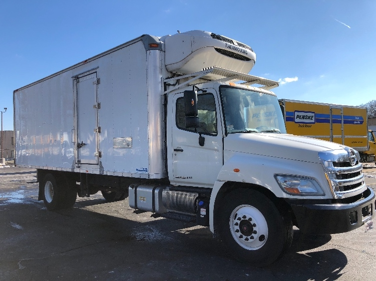 Reefer Truck-Light and Medium Duty Trucks-Hino-2012-268-BRAINTREE-MA-73,102 miles-$44,500