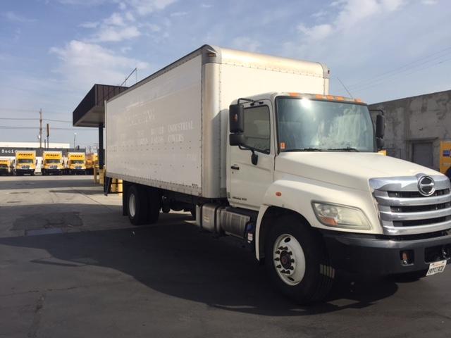 Medium Duty Box Truck-Light and Medium Duty Trucks-Hino-2012-268-TORRANCE-CA-98,936 miles-$40,000