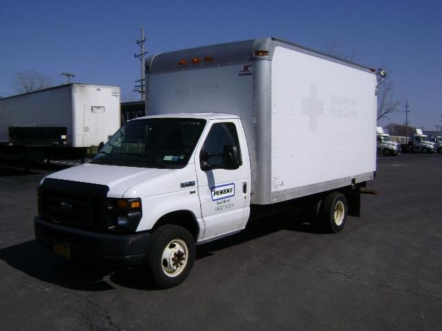 Light Duty Box Truck-Light and Medium Duty Trucks-Ford-2011-E450-BUFFALO-NY-67,346 miles-$18,250