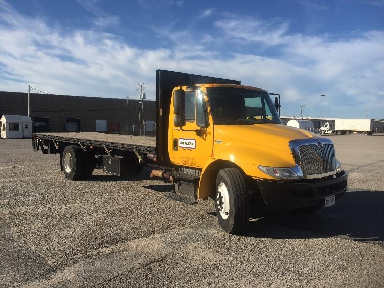 Flatbed Truck-Light and Medium Duty Trucks-International-2012-4300-CHESAPEAKE-VA-74,597 miles-$34,500