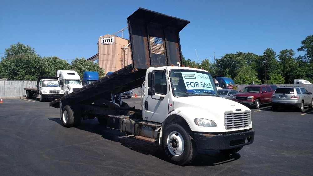 Flatbed Truck-Light and Medium Duty Trucks-Freightliner-2012-M2-INDIANAPOLIS-IN-296,380 miles-$25,250