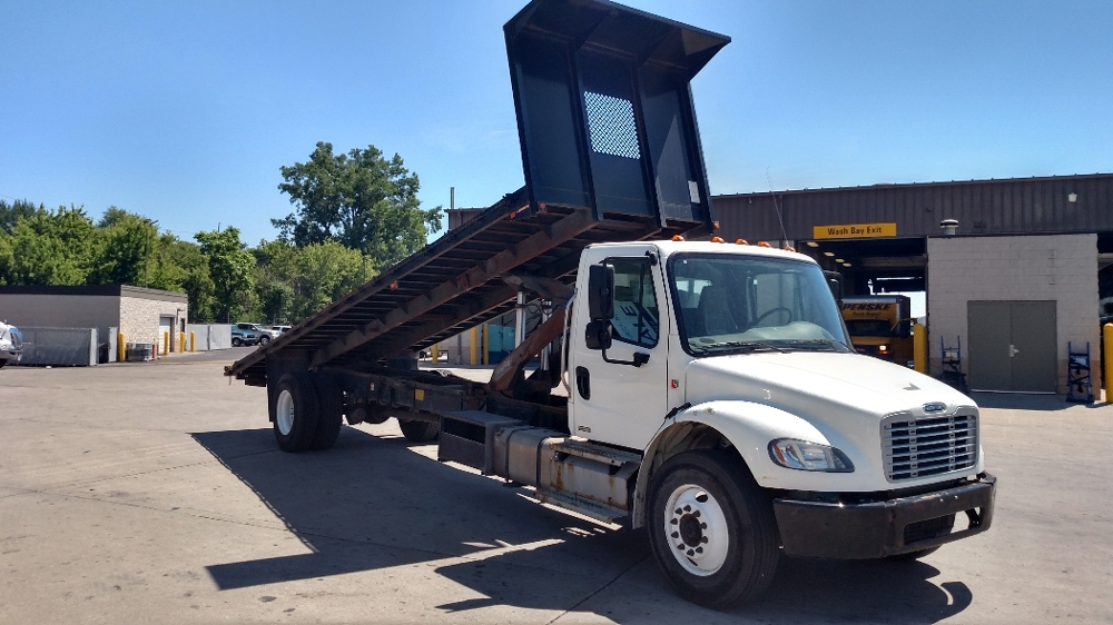 Flatbed Truck-Light and Medium Duty Trucks-Freightliner-2012-M2-INDIANAPOLIS-IN-191,050 miles-$29,250