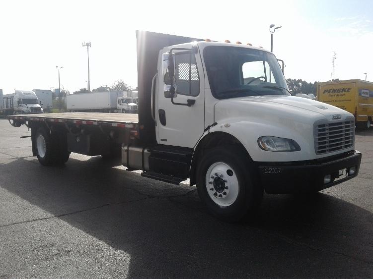 Medium Duty Box Truck-Light and Medium Duty Trucks-Freightliner-2012-M2-ELKHART-IN-158,023 miles-$34,250