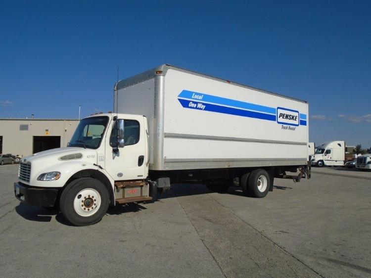 Medium Duty Box Truck-Light and Medium Duty Trucks-Freightliner-2012-M2-DES MOINES-IA-217,972 miles-$36,250