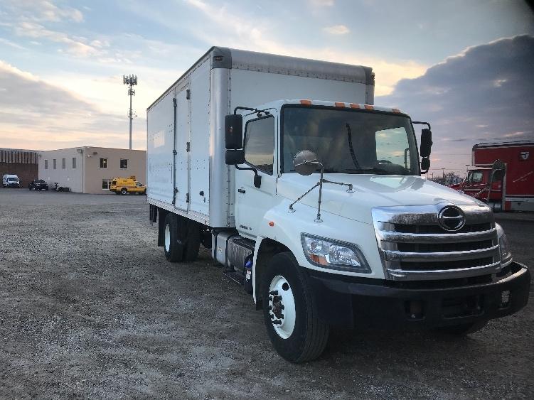 Medium Duty Box Truck-Light and Medium Duty Trucks-Hino-2012-338-PHILADELPHIA-PA-113,893 miles-$34,500