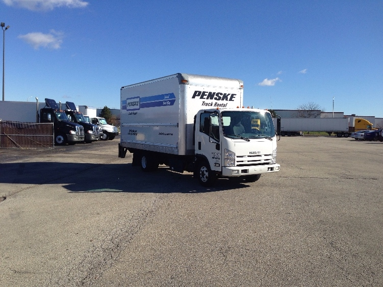 Medium Duty Box Truck-Light and Medium Duty Trucks-Isuzu-2012-NPR-ROMEOVILLE-IL-138,525 miles-$21,750
