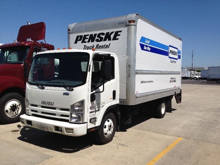 Medium Duty Box Truck-Light and Medium Duty Trucks-Isuzu-2012-NPR-TEMPE-AZ-194,418 miles-$17,500