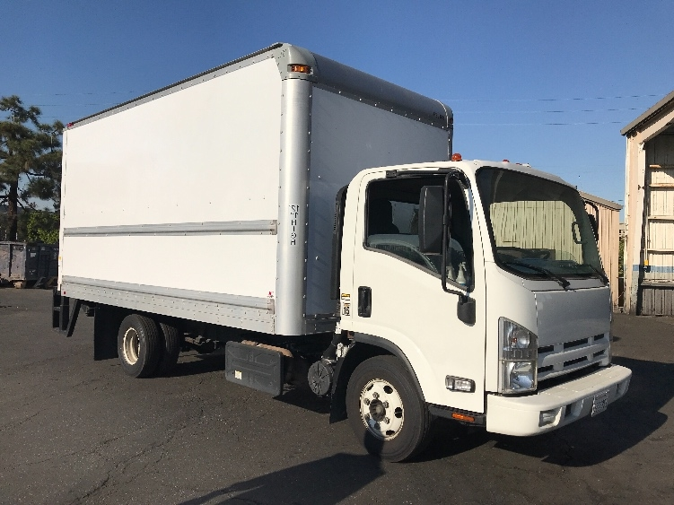 Medium Duty Box Truck-Light and Medium Duty Trucks-Isuzu-2012-NPR-TORRANCE-CA-78,923 miles-$33,000