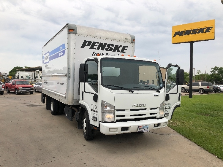 Medium Duty Box Truck-Light and Medium Duty Trucks-Isuzu-2012-NPR-HOUSTON-TX-130,900 miles-$23,750