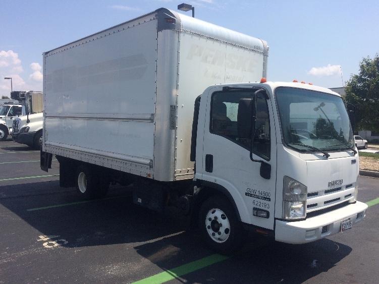 Medium Duty Box Truck-Light and Medium Duty Trucks-Isuzu-2012-NPR-BALTIMORE-MD-88,730 miles-$25,000