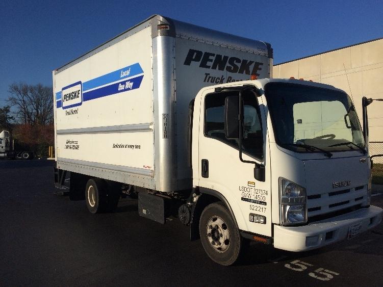 Medium Duty Box Truck-Light and Medium Duty Trucks-Isuzu-2012-NPR-JESSUP-MD-136,875 miles-$20,000