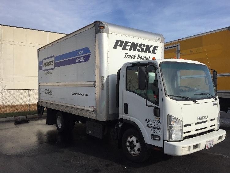 Medium Duty Box Truck-Light and Medium Duty Trucks-Isuzu-2012-NPR-JESSUP-MD-126,210 miles-$21,000