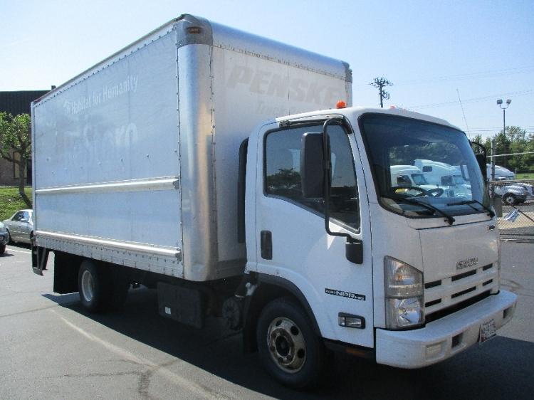 Medium Duty Box Truck-Light and Medium Duty Trucks-Isuzu-2012-NPR-BALTIMORE-MD-123,874 miles-$22,750