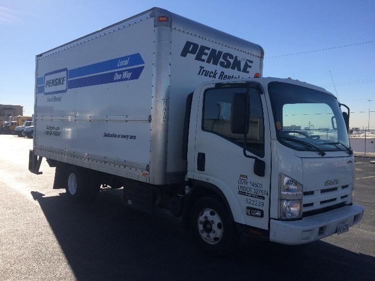 Medium Duty Box Truck-Light and Medium Duty Trucks-Isuzu-2012-NPR-EL PASO-TX-109,234 miles-$25,000