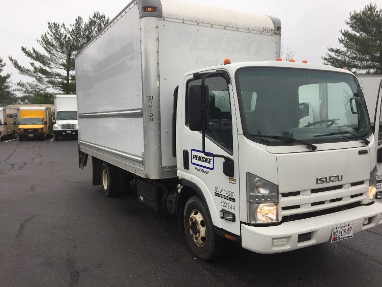 Medium Duty Box Truck-Light and Medium Duty Trucks-Isuzu-2012-NPR-BALTIMORE-MD-128,468 miles-$23,750