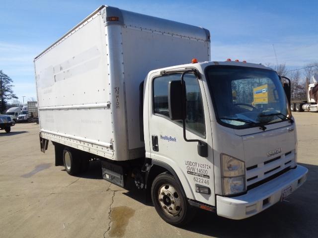 Medium Duty Box Truck-Light and Medium Duty Trucks-Isuzu-2012-NPR-BALTIMORE-MD-138,559 miles-$27,500
