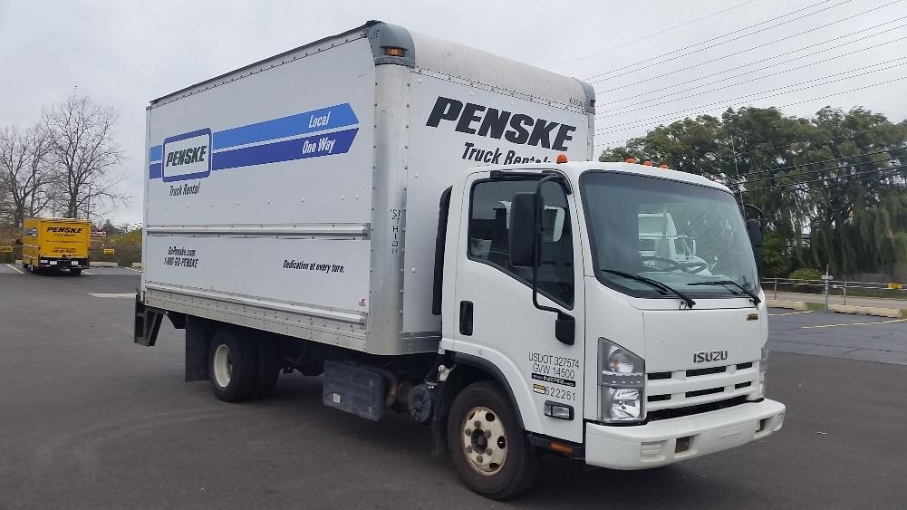 Medium Duty Box Truck-Light and Medium Duty Trucks-Isuzu-2012-NPR-ELK GROVE VILLAGE-IL-112,870 miles-$23,750