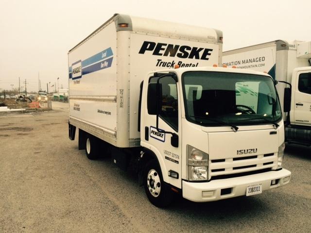 Medium Duty Box Truck-Light and Medium Duty Trucks-Isuzu-2012-NPR-HARAHAN-LA-107,457 miles-$28,500
