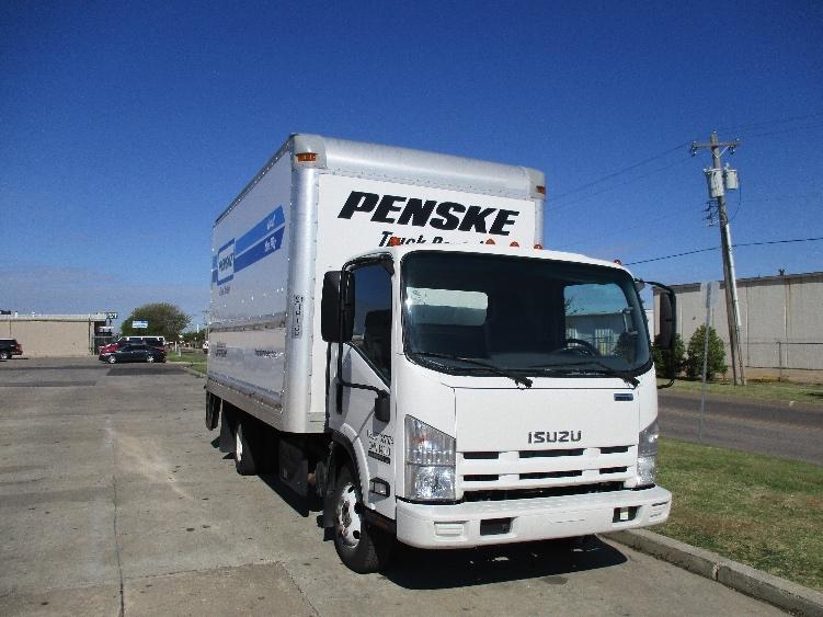 Medium Duty Box Truck-Light and Medium Duty Trucks-Isuzu-2012-NPR-OKLAHOMA CITY-OK-118,930 miles-$30,750
