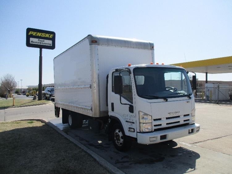 Medium Duty Box Truck-Light and Medium Duty Trucks-Isuzu-2012-NPR-OKLAHOMA CITY-OK-139,121 miles-$28,250