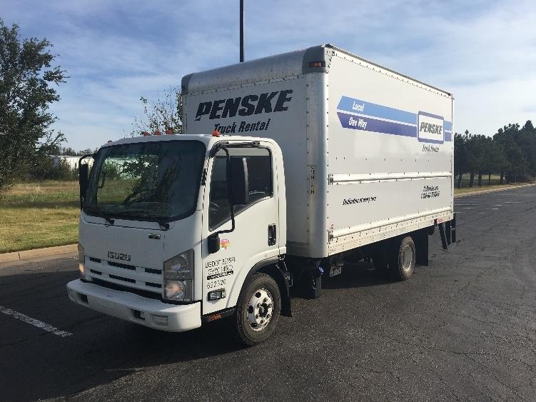 Medium Duty Box Truck-Light and Medium Duty Trucks-Isuzu-2012-NPR-OKLAHOMA CITY-OK-146,764 miles-$28,000
