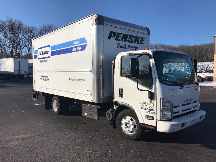 Medium Duty Box Truck-Light and Medium Duty Trucks-Isuzu-2012-NPR-CRANSTON-RI-134,706 miles-$27,500