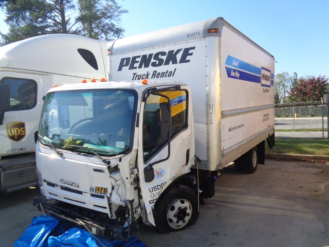 Medium Duty Box Truck-Light and Medium Duty Trucks-Isuzu-2012-NPR-MONTGOMERY-NY-155,789 miles-$20,500