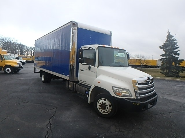 Medium Duty Box Truck-Light and Medium Duty Trucks-Hino-2012-258LP-WARREN-MI-148,542 miles-$38,750
