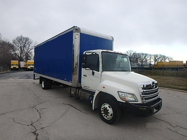 Medium Duty Box Truck-Light and Medium Duty Trucks-Hino-2012-258LP-WARREN-MI-144,232 miles-$34,750