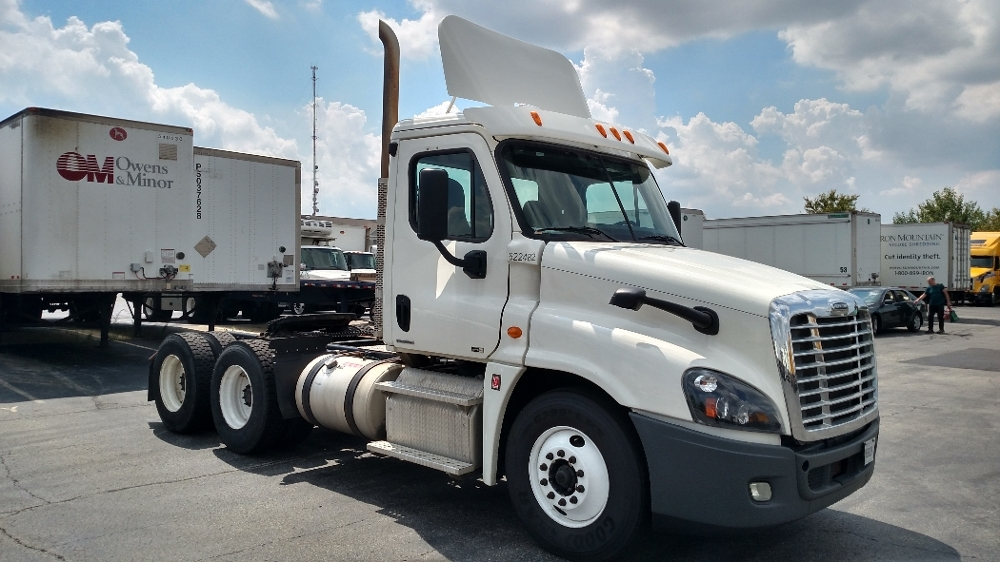 Day Cab Tractor-Heavy Duty Tractors-Freightliner-2012-Cascadia 12564ST-INDIANAPOLIS-IN-336,633 miles-$41,750