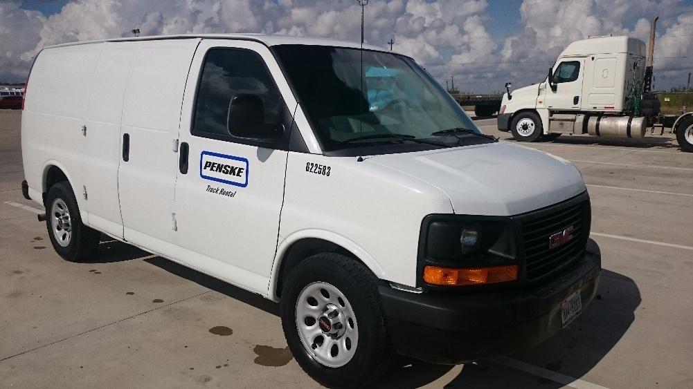 Cargo Van (Panel Van)-Light and Medium Duty Trucks-GMC-2011-Savana G13405-PHARR-TX-120,023 miles-$12,750