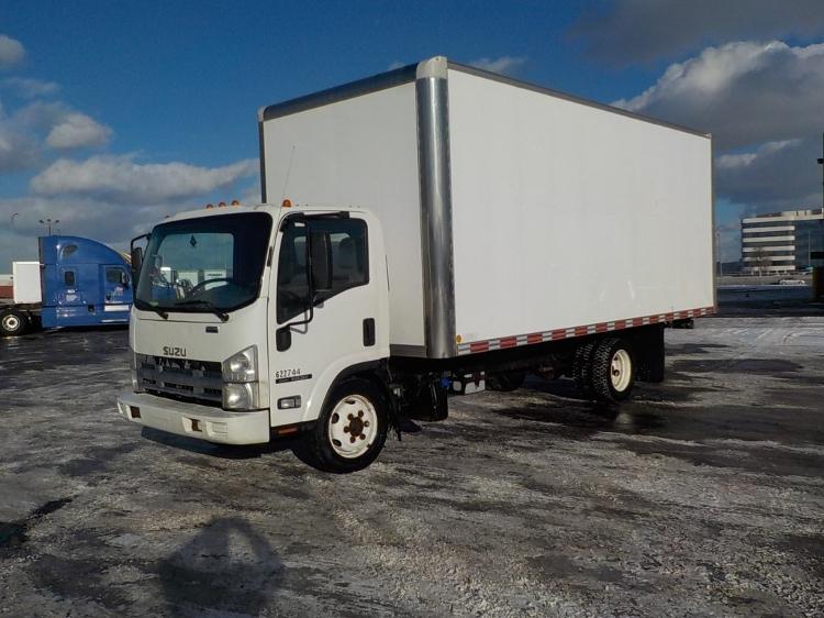 Medium Duty Box Truck-Light and Medium Duty Trucks-Isuzu-2011-NQR-SAINT LAURENT-PQ-234,734 km-$24,750