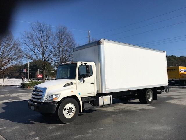 Medium Duty Box Truck-Light and Medium Duty Trucks-Hino-2012-268-ATLANTA-GA-80,974 miles-$44,750