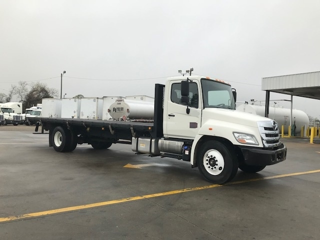 Flatbed Truck-Light and Medium Duty Trucks-Hino-2012-268-MONTGOMERY-AL-46,022 miles-$46,750