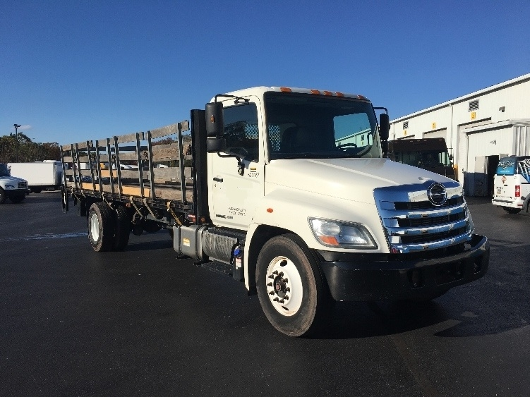 Flatbed Truck-Light and Medium Duty Trucks-Hino-2012-268-HARRISBURG-PA-155,543 miles-$39,500