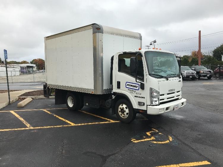 Medium Duty Box Truck-Light and Medium Duty Trucks-Isuzu-2012-NPR-CHICOPEE-MA-82,052 miles-$25,750